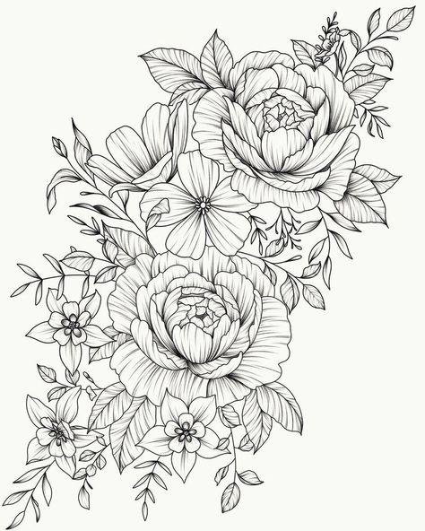 Tätowierung sein #tattoos #flowertattoos