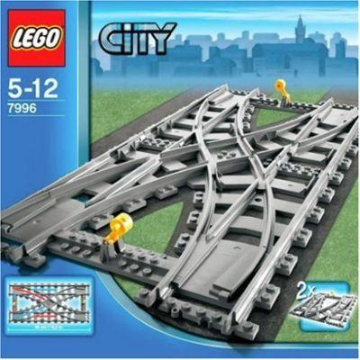 Lego City Train Rail Crossing 7996 Lego City Sets Lego Track Lego City Train
