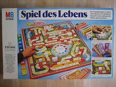 Spiel Des Lebens Von Mb Des Lebens Mb Souvenir Spiel Von Kindheitserinnerungen Kindheit Spiel Des Lebens