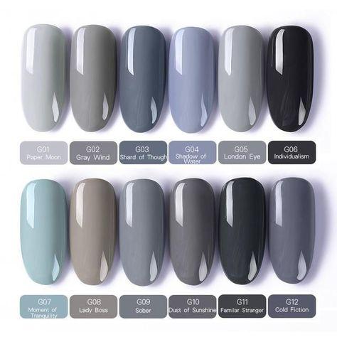 BORN BEAUTIFUL nail gel set Soak UV gel polish Useful and life-saving data ; Cute Nails, Pretty Nails, Nail Polish Kits, Gel Nail Polish Brands, Best Gel Nail Polish, Gel Nail Colors, Nail Colors For Pale Skin, Neutral Nails, Nail Ideas