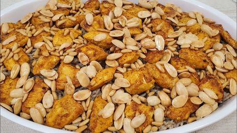 طريقة تحضير الارز على الدجاج بالطريقة اللبنانية Lebanese Chicken With Rice Youtube Savory Appetizer Recipes Food