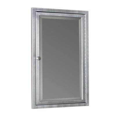 Home Decorators Collection 20 In W X 26 In H Fog Free Framed Recessed Or Surface Moun Recessed Medicine Cabinet Adjustable Shelving Bathroom Medicine Cabinet