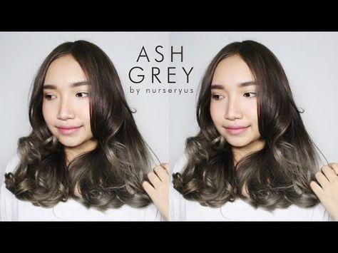 D I Y Ash Grey Hair On A Budget Youtube Ash Grey Hair Grey