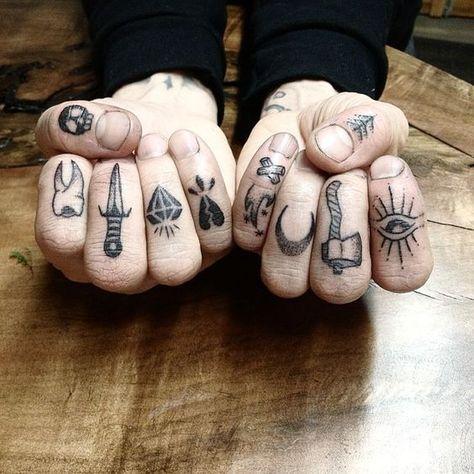 Tattoo Ideas on Hand | Small Tattoo Ideas