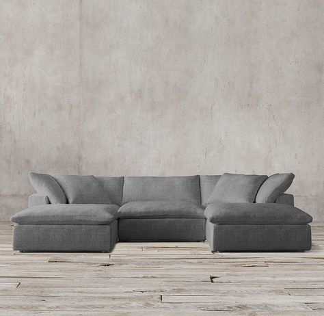 Cloud Sofa Sectional   Google Search | Family Room | Pinterest | Living  Rooms, Room And Restoration Hardware