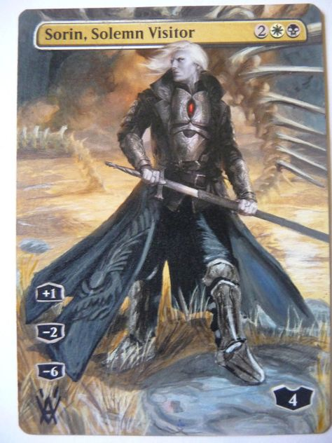 Sorin Full art Solemn Visitor Altered
