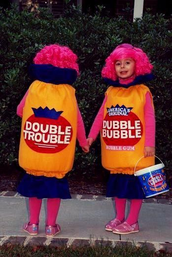 Kids Halloween Costumes: Dubble Bubble Trouble