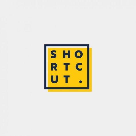Shortcut Logo Design on Inspirationde