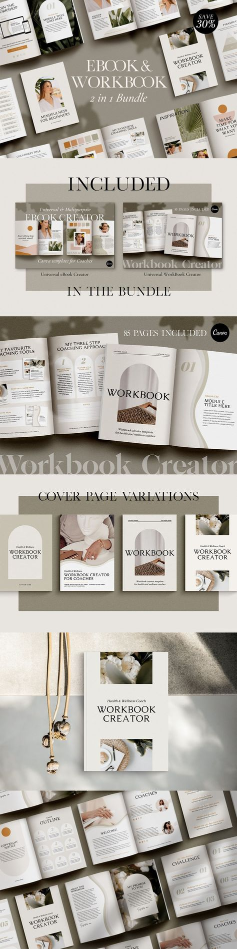 Wellness WorkBook + EBook Bundle