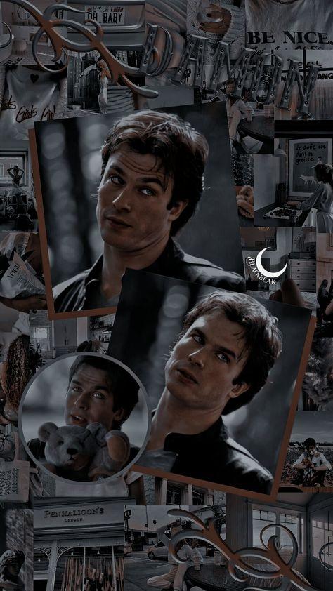 Lockscreen wallpaper -Damon Salvatore
