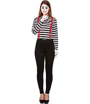 Women/'s Mime Costume