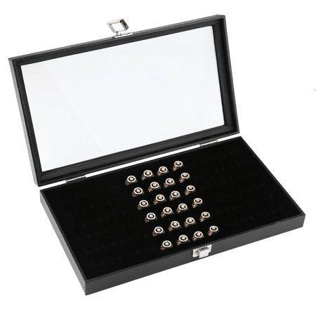 6 Black Flocked Earring /& Pendant Gift Boxes