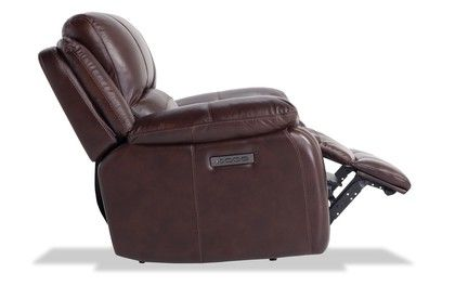 Titan Leather Power Recliner Bobs Furniture Power Recliners