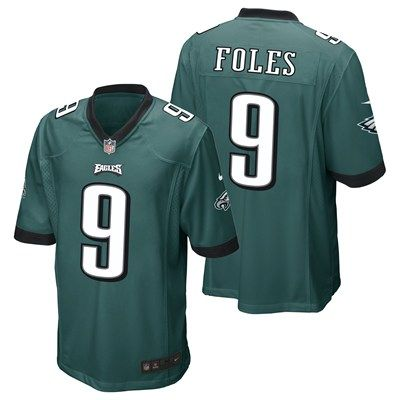 614661cc471 Philadelphia Eagles Home Game Jersey (Green). Available from Kitbag.com