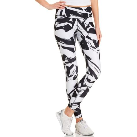 01564820dbb4 Nike Abstract-Print Dri-fit Leggings ( 38) ❤ liked on Polyvore featuring  pants