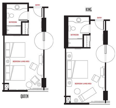 Hotel Room Plans Designs hotel room floor plans |  in las vegas, nv - best las vegas