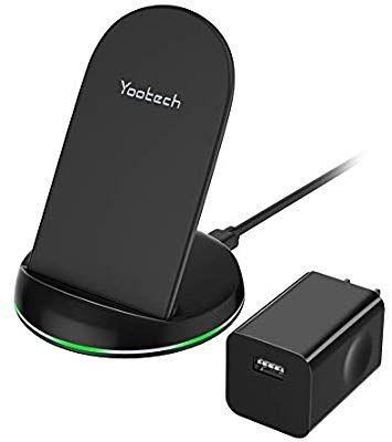 : Yootech Wireless Charger Qi Certified Wireless