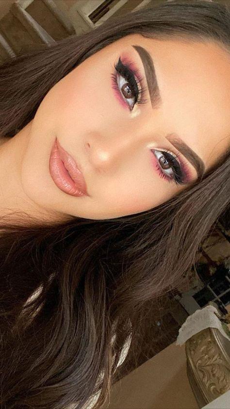 Rose Gold Eye Makeup Glam Tutorial Idea for Holidays & Christmas