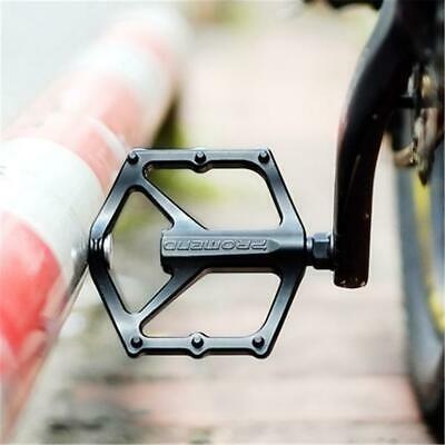 "Bike Pedals Mountain Road Bicycle Flat Platform MTB Cycling Aluminum Alloy 9//16/"""