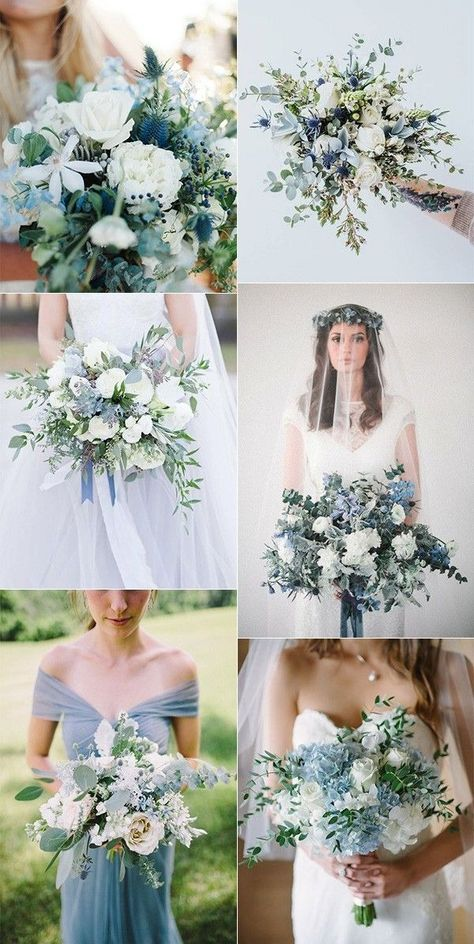 30+ Navy Blue and Greenery Wedding Color Ideas