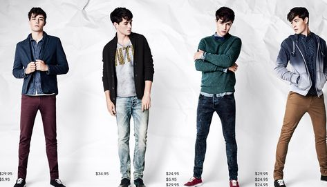 Check shirts, clothing trends 2013,crop shirts, cut shoes, shirts with printed text;