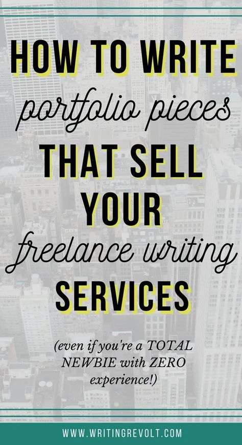 How to Create Your Freelance Writing Portfolio as a Beginner