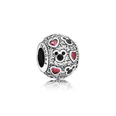 Disney, Sparkling Mickey & Hearts - 791457CZ | Amuletos de ...