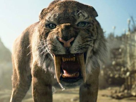 ид кожа саблезубый тигр