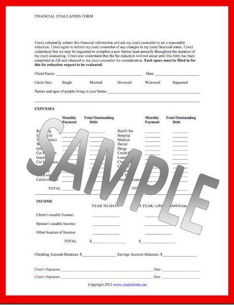 Financial Evaluation form #financial #evaluation #form Financial - medicaid prior authorization form
