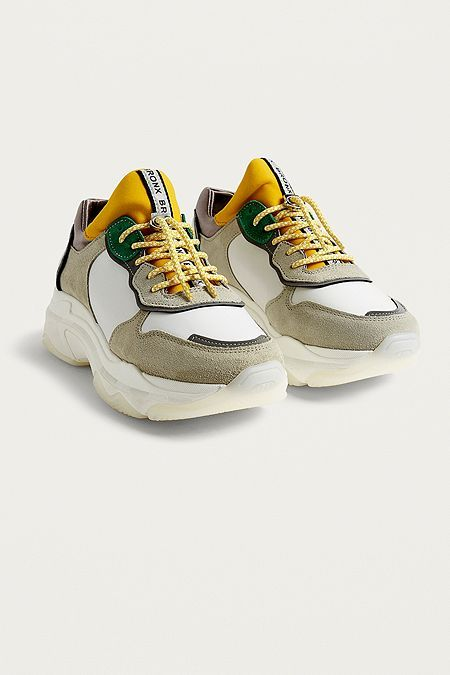 Yellow Chunky Trainers | Bronx shoes
