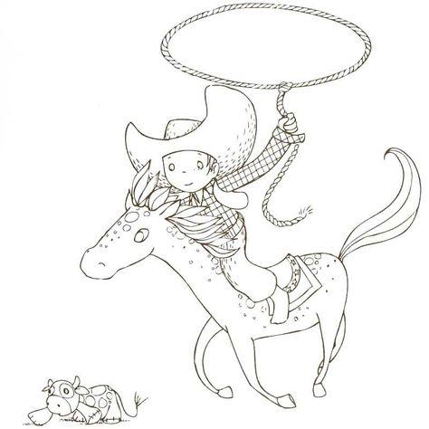 Cahier de coloriage Cap Canaille Matteo le Cowboy - 80 pages