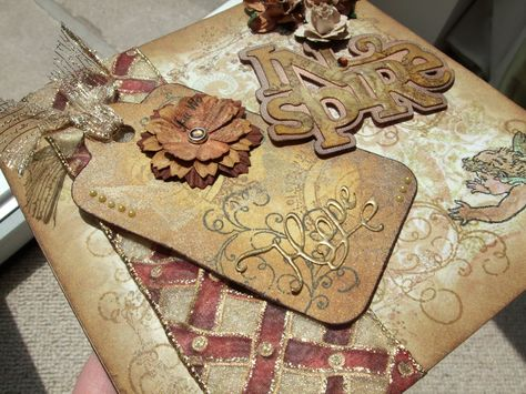 tim holtz christmas cards ideas my crafty cupboard my first distress card aka tim holtz