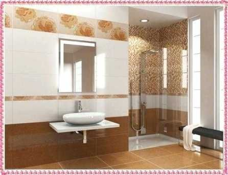 Best Tile Color For Small Bathroom With Images Bathroom Wall Tile Design Small Bathroom Colors Unique Bathroom Tiles
