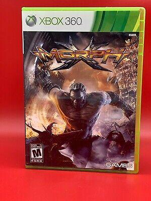 Morphx Microsoft Xbox 360 2010 Complete Ebay Xbox Xbox 360 Retro Gaming