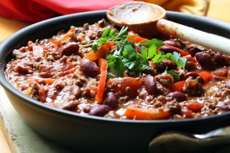 Easy Recipe For Cooking Chilli Con Carne MAN'S BLACK BOOK