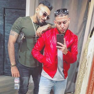5m Trouble Another One Thankueveryone Fanlove Linkinbio Barcelona Red Leather Jacket Leather Jacket Fashion