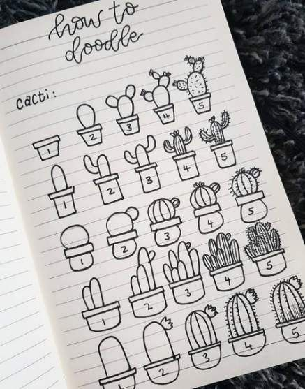 65+ Ideas For Drawing Simple Succulent