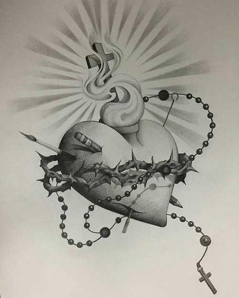 50 Tatuagens De Jesus Cristo Braco Costas Barriga Perna