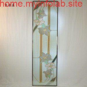ステンド グラス ステンドグラス ステンドガラス デザインパネルsgl17