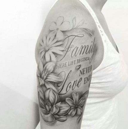 Tattoo Quotes For Couples Awesome 61 Ideas Half Sleeve Tattoos For Guys Family Sleeve Tattoo Tattoos For Women Half Sleeve