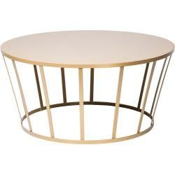 Riverdale Bijzettafel Rond.Sitzhocker In 2020 With Images Gold Coffee Table Round Coffee