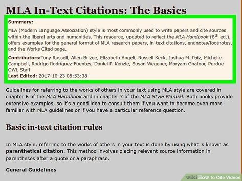 How To Wiki 89 Cite A Book Mla In Text Example Citing Classroom Quote Image Quotes Parenthtical Notation Paraphrasing