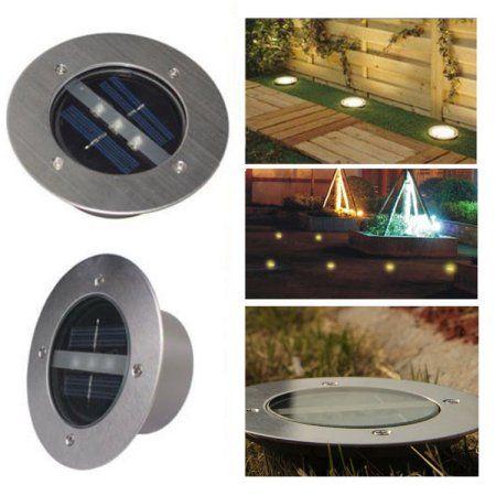 2pcs Solar Led Path Lights Waterproof Underground Garden Lights Outdoor Landscape Light Landscape Lighting Design Landscape Lighting Outdoor Landscape Lighting