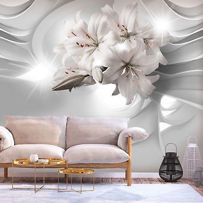 Vlies Fototapete Blumen Lilien Weiss 3d Effekt Tapete Wandbilder Xxl Wohnzimmer 7 Eur 8 99 Picclick De Fototapete Wandtapete Fototapete Blumen