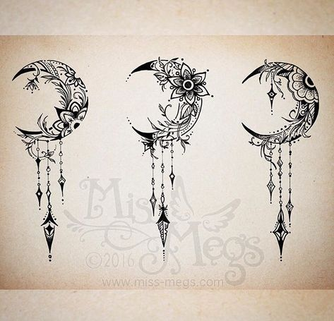 Image result for flower moon tattoo meaning