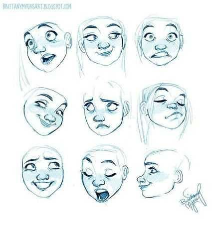 Some Drawing References Mostly Human Drawing Cartoon Faces Drawing Expressions Drawing Cartoon Characters