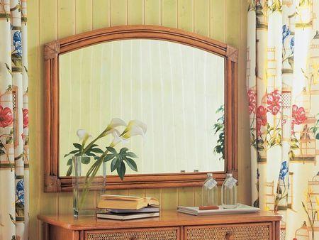 Miroir Soria En Rotin Haut De Gamme Meuble Pour La Chambre A Coucher Le Monde Du Lit Miroir Miroir En Rotin Rotin