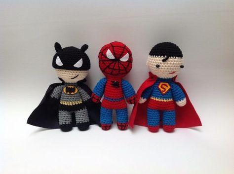 Бэтмен - вязаный Бэтмен - Batman -amigurumi | Batman amigurumi ... | 353x474