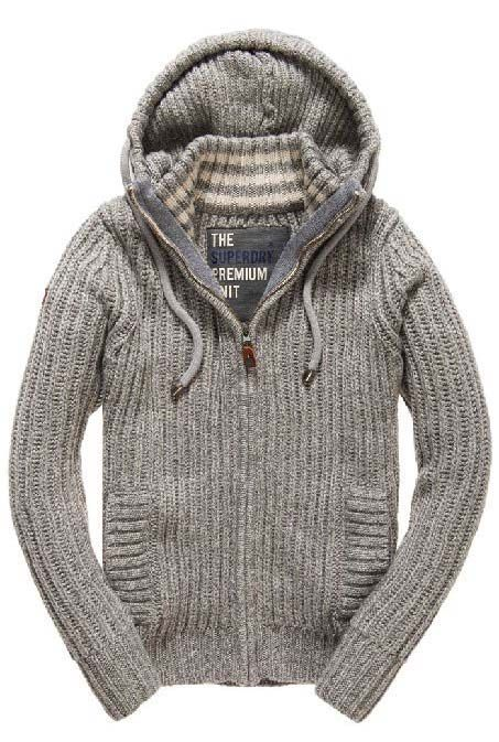 $137.90 Superdry Nordic Zip Through | Trendy mens fashion
