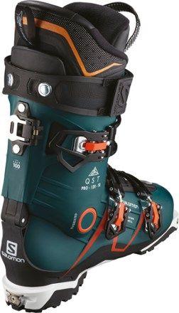 Salomon Men's QST Pro 120 TR Ski Boots BlueOrange 29.5